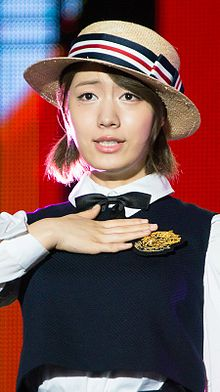 Ryu Hyo-young at Show Music Core Chuseok Special, 14 September 2013 01.jpg