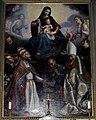 S. agostino, cappella del ss. sacramento, l'empoli, madonna in gloria e santi 2.jpg