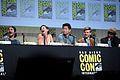 SDCC 2015 - Dylan O'Brien, Rosa Salazar, Ki Hong Lee & Giancarlo Esposito (19551368558).jpg