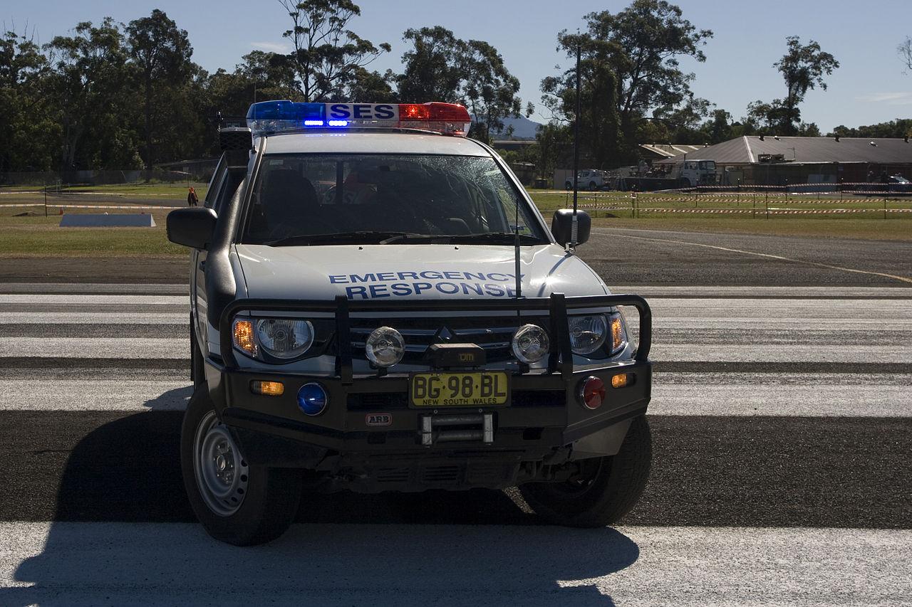 File Ses Emergency Response Vehicle Albion Park Nsw Jpg