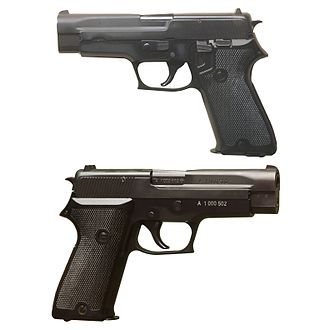 SIG Sauer P220 - Image: SIG220 Morges two sides