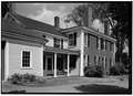 SOUTHEAST VIEW OF EXTERIOR - Noah Brooks Tavern, North Great Road (State Route 2A), Lincoln, Middlesex County, MA HABS MASS,9-LIN,5-2.tif