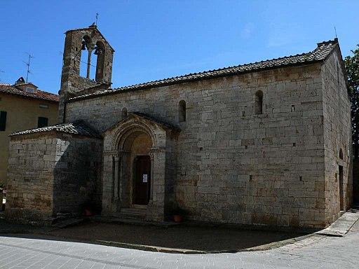 Chiesa Santa Maria Assuntai, San Quirico d'Orcia