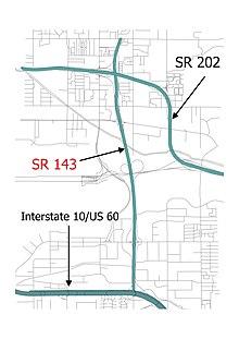 Arizona State Route 143 - Wikipedia