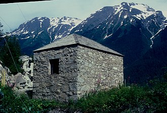 Prince of Wales–Hyder Census Area, Alaska - Image: STOREHOUSE NO. 4 IN HYDER