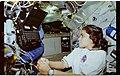STS087-342-019 - STS-087 - USMP-4 MGBX, Doi, Chawla and Scott work with a glovebox experiment - DPLA - ff38b362054f33a49381d36d33c95c05.jpg