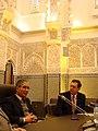 Saad Souissi meeting Ahmed Herzenni (3272628699).jpg