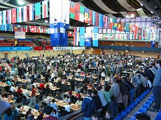 Chess Olympiad biennial chess tournament