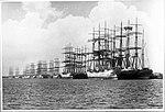 Sailing ships at Stockton Wharves, Newcastle, New South Wales (7769761070).jpg