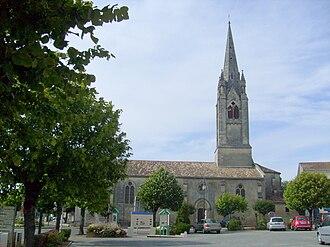 Saint-Ciers-sur-Gironde - Image: Saint Ciers sur Gironde