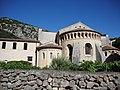 Saint-Guilhem-le-Désert abbaye de Gellone extérieur 2.JPG