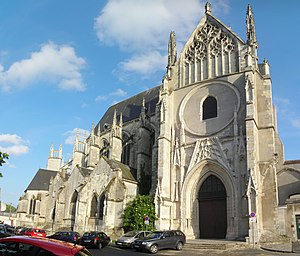Saint-Aignan d'Orléans - Collégiale Saint-Aignan d'Orléans today