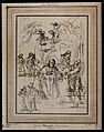 Saint Gregory the Great. Etching by S. Watts after Antonio C Wellcome V0032168.jpg