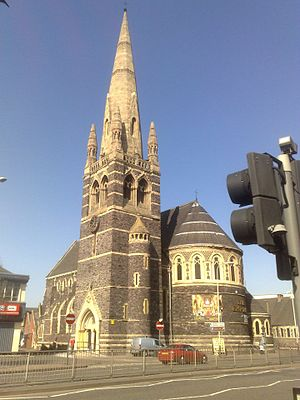Anglican churches in Leicester - St Mark's, Belgrave - The Empire Conference Centre
