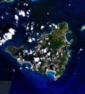St. Martin (Satellitenbild)
