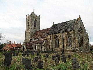 Car Colston village in United Kingdom