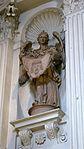 Saint Michael's Church (Munich, Bavaria) - statue of angel holding the veil of Veronica.JPG