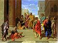 Saint Pierre et saint Jean guérissant le boiteux - Poussin - Metropolitan.jpg