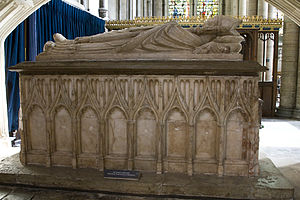 Richard Mitford - Tomb of Richard Mitford in Salisbury Cathedral