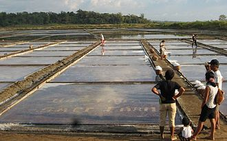 Pangasinan - Commercial salt industry in Dasol