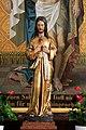 Salzburg - Itzling - Pfarrkirche St. Antonius Statue 3 - 2019 08 01.jpg