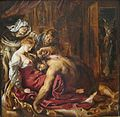 Samson and Delilah by Rubens, 1609.jpg