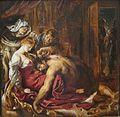 Samson and Delilah by Rubens, 1609.jpg