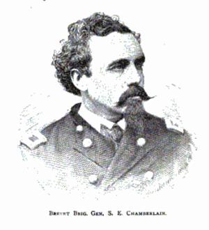 Samuel Chamberlain - Brig. Gen. Samuel Chamberlain