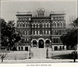 San Jose High School - Image: San Jose High School (old building)