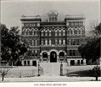 San Jose High School - Image: San Jose High School (old building)