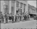 San Pedro, California. Scene at West Seventh and South Pacific Streets during evacuation of residen . . . - NARA - 536779.tif