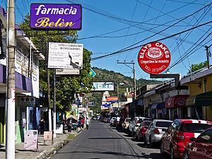 Σαν Βισέντε: image:San Vicente Calles 2011