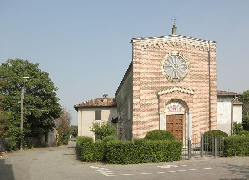 File:San Zenone al Lambro - frazione Santa Maria in Prato - chiesa parrocchiale.jpg