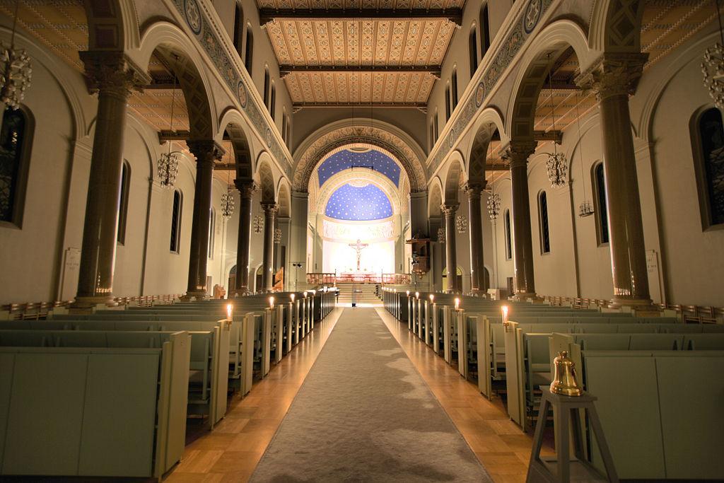 Eglise de Sankt Pauls Kirke à Copenhague.