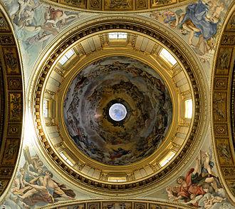 Giovanni Lanfranco - Frescoed Cupula of Sant'Andrea della Valle.