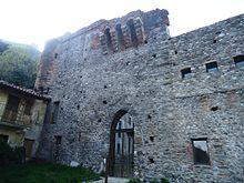 L'ingresso del Palazzo abbaziale