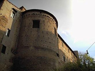 Santi Quattro Coronati - Apse and Cardinal Palace.