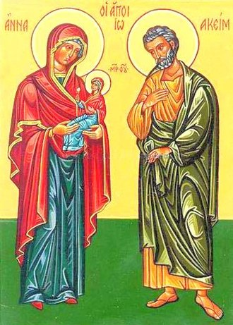 Joachim - Saints Joachim and Anne, Parents of the Virgin Mary