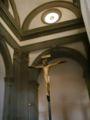 Santo Spirito, crucifix by michelangelo 1.JPG