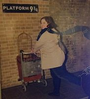 Sara going to Hogwarts.jpg