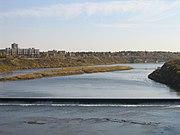De rivier Saskatchewan