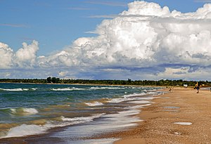 Sauble Beach, Ontario - By September, few tourists visit, making the beach a quiet spot especially mid-week