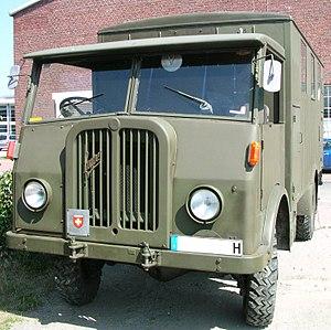 Saurer 2 CM Kastenwagen