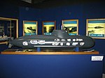 Scale 1-25 Model of Type 212 Submarine Salvatore Todaro (S 526) - Mostra istituzionale della Marina Militare (Sept. 2008) - Villa Genoese Zerbi (Reggio Calabria) - Italy.jpg