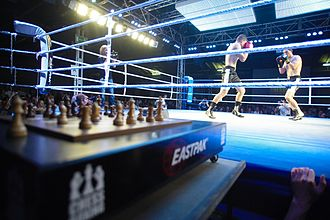 Chess boxing - A chess boxing match in Berlin, 2008