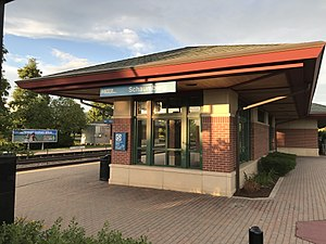 2e0503fd53b Schaumburg station - Wikipedia