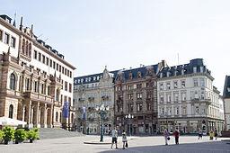 Schloßplatz in Wiesbaden