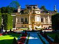 Schlosspark Linderhof, Westpaterre (12373578833).jpg