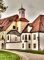 Schlosspark Oberschleißheim, Altes Schloss (8675710662).jpg