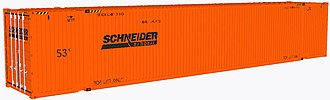 Schneider National - Image: Schneider National container